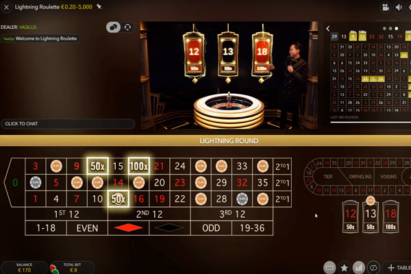 lightning strike roulette bonus